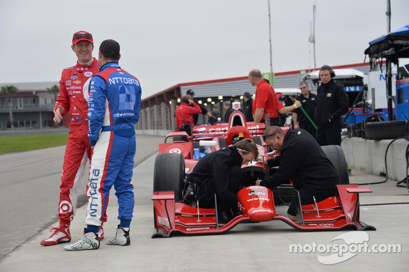 Scott Dixon e Tony Kanaan, Ganassi Racing