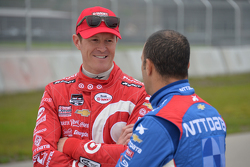 Scott Dixon and Tony Kanaan, Chip Ganassi Racing