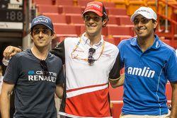 Nicolas Prost, Bruno Senna, Salvador Duran