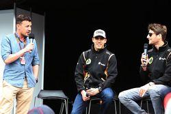 Will Buxton, Lotus F1 Takımı ve Romain Grosjean, Lotus F1 Takımı