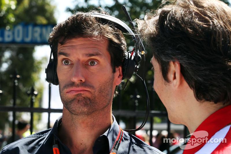 Mark Webber con Massimo Rivola