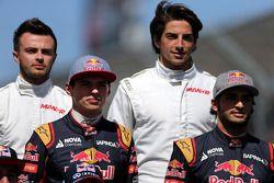Max Verstappen, Scuderia Toro Rosso and Carlos Sainz Jr., Scuderia Toro Rosso