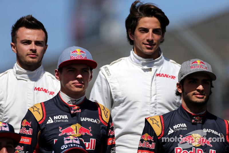 Max Verstappen, Scuderia Toro Rosso y Carlos Sainz Jr., Scuderia Toro Rosso