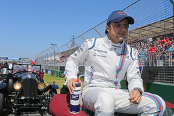 Felipe Massa, Williams lors de la parade des pilotes