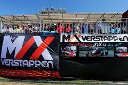Max Verstappen, Scuderia Toro Rosso banners