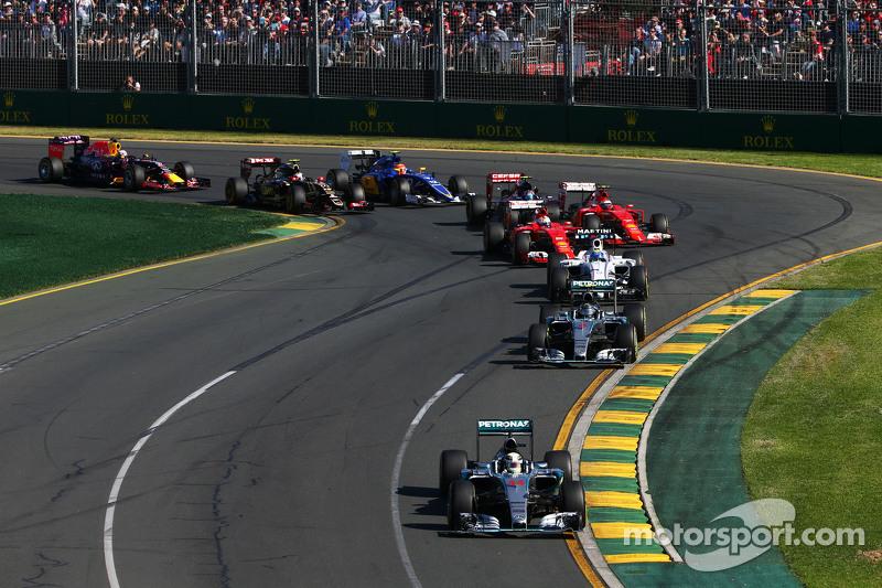 Гран При Австралии, 15 марта. Льюис Хэмилтон и Нико Росберг лидируют на старте