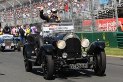 Nico Hulkenberg, Sahara Force India F1 lors de la parade des pilotes