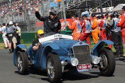 Sergio Pérez, Sahara Force India F1 en el desfile de los conductores