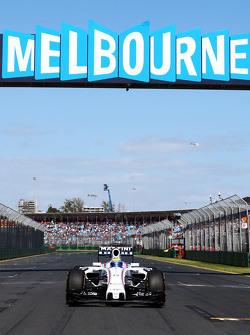 Felipe Massa, Williams FW37 sur la grille