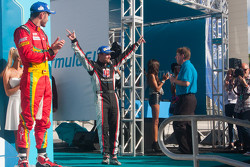Podium: second place Scott Speed, third place Daniel Abt