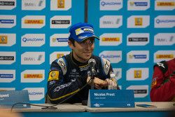 Post-race press conference: race winner Nicolas Prost