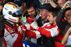 Sebastian Vettel (GER) Ferrari. 15/03/2015. Mundial de Fórmula 1, Rd 1, el Gran Premio de Australia,