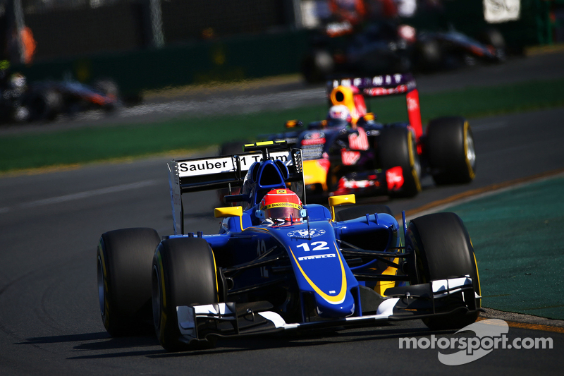 Felipe Nasr GP Australia 2015, Sauber