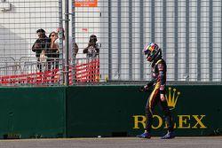 Max Verstappen, Scuderia Toro Rosso retired from the race
