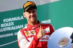 Tercer lugar, Sebastian Vettel, Scuderia Ferrari