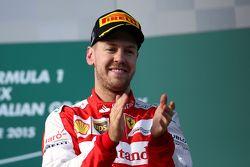 El tercer lugar, Sebastian Vettel, Scuderia Ferrari