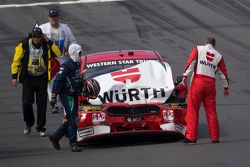 Marcos Ambrose, Team Penske Ford in trouble