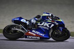 Maverick Vinales, il Team Suzuki MotoGP