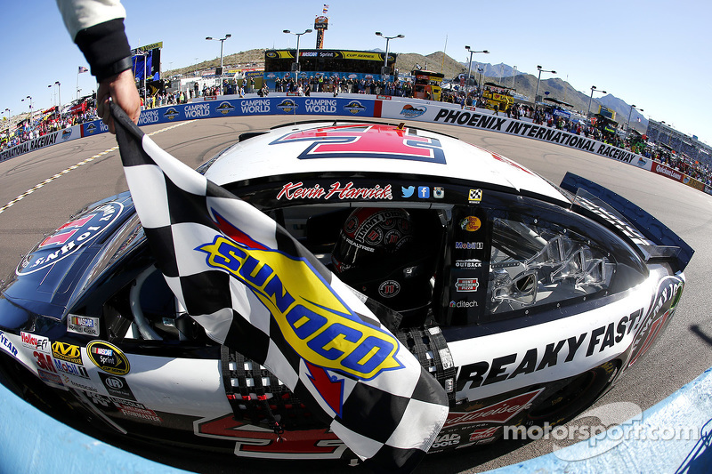5. Kevin Harvick wins four in a row