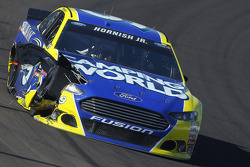 Sam Hornish Jr., Richard Petty Motorsports Ford in trouble