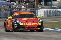 #43 Team Sahlen, Porsche Cayman: Wayne Nonnamaker, Jeff Segal