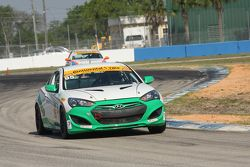#95 Irish Mike's Racing, Hyundai Genesis: Conor Flynn, Alix Bolans