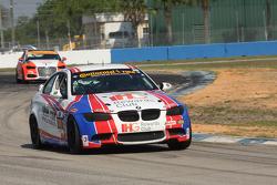 #46 Fall-Line Motorsports BMW M3: Trent Hindman, Ashley Freiberg, John Edwards