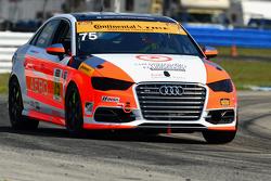 #75 Compass360 Racing, Audi S3: Paul Holton, Kyle Gimple
