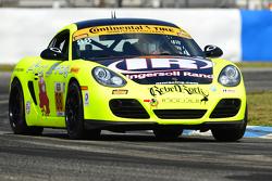 #88 Rebel Rock Racing, Porsche Cayman: Jim Jonsin, Nate Norenberg
