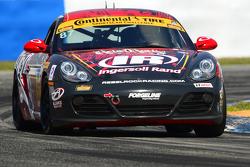 #87 Rebel Rock Racing, Porsche Cayman: Ramin Abdolvahabi, Mark Pombo