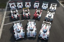 Le Mans winning prototypes 2000-2015