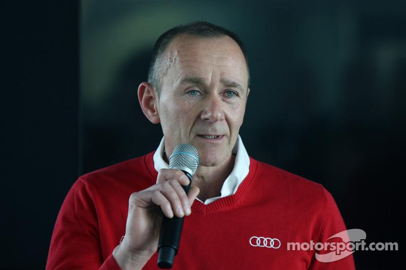 Jörg Zander, head of Audi Sport engineering