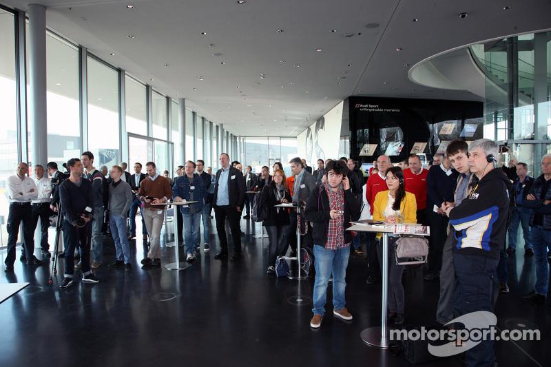 Audi Warm Up 2015