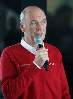 Dr. Wolfgang Ullrich, director de Audi Sport