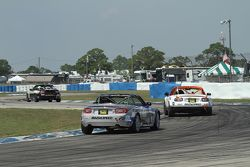 Action im Training am Sebring Raceway