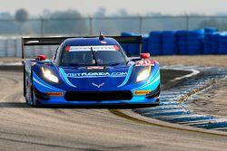 #90 VisitFlorida.com Racing Corvette DP: Richard Westbrook, Michael Valiante, Mike Rockenfeller, Guy Cosmo