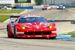 #63 Scuderia Corsa Ferrari 458 Italia: Bill Sweedler, Townsend Bell, Anthony Lazzaro