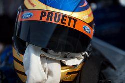 Helmet of Scott Pruett