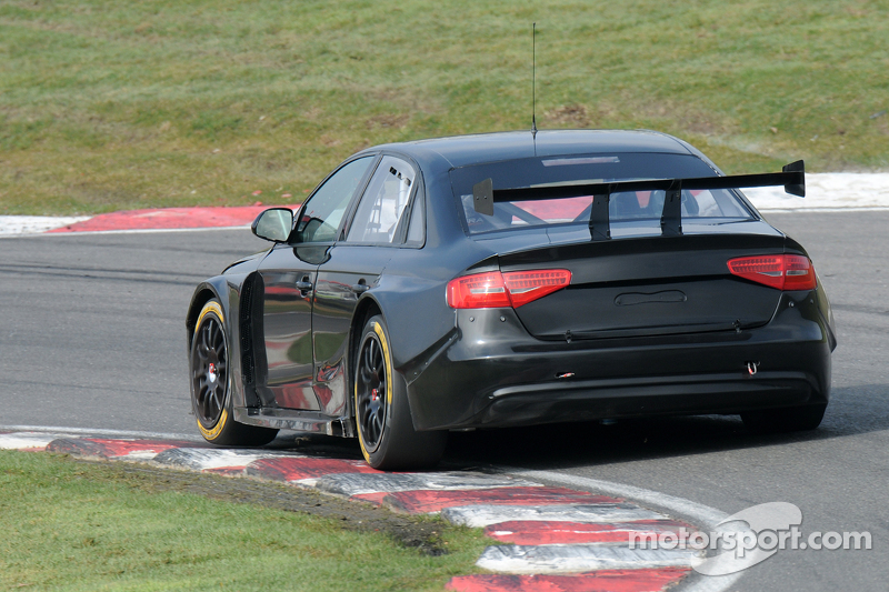 Rob Austin Racing Audi A4 At Brands Hatch March Testing