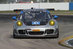 #81 GB Autosport Porsche 911 GT America: Damien Faulkner, Mike Skeen, Michael Avenatti