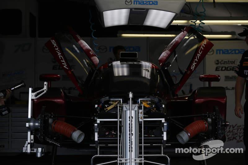 Mazda-Teambereich