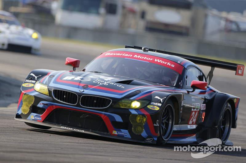 #24 BMW Team RLL BMW Z4 GTE: John Edwards, Lucas Luhr, Jens Klingmann