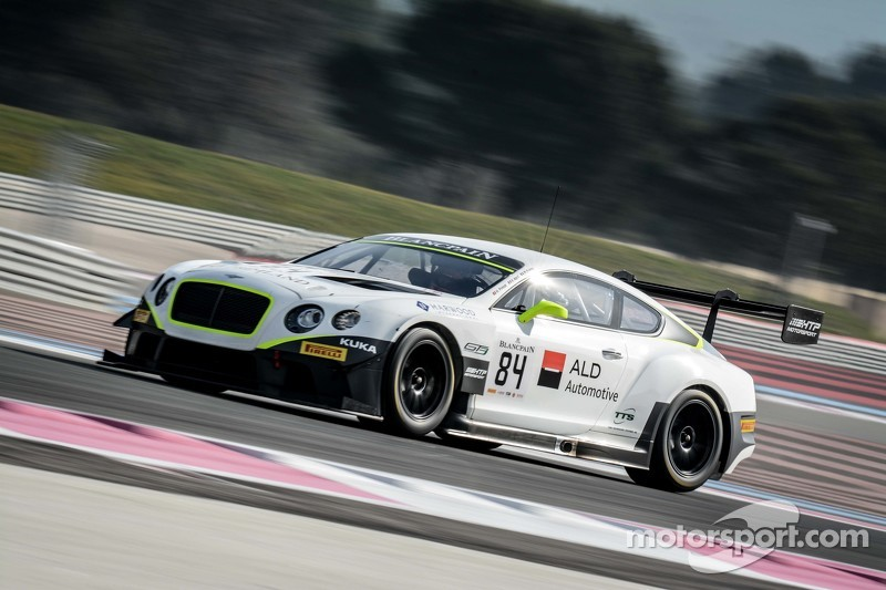 #84 Bentley Team HTP Bentley Continental GT3: Mike Parisy, Harold Primat, Vincent Abril
