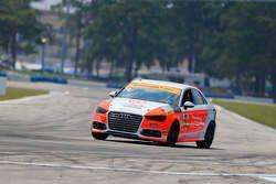 #74 Compass360 Racing, Audi S3: Jim McGuire, Nico Rondet