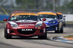 #34 Alara Racing,马自达MX-5: Christian Szymczak, Devin Jones
