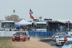 #76 Compass360 Racing Subaru WRX STI: Ray Mason, Pierre Kleinubing in trouble