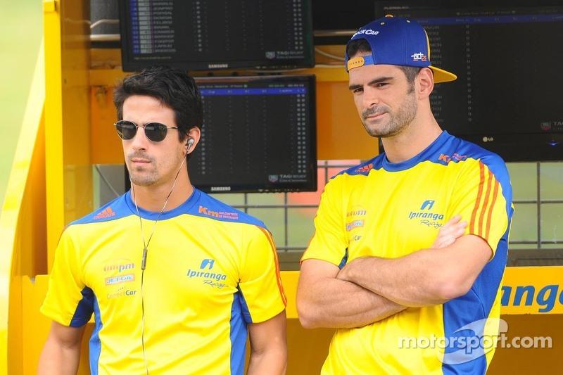 Lucas di Grassi and Thiago Camilo
