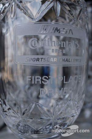 Continental Tire Sportscar Challenge trophies