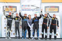ST podium: winners Greg Liefooghe, Eric Zimmermann, second place Ted Giovanis, David Murry, third place Stevan McAleer, Chad McCumbee