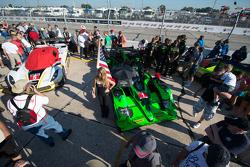 #1 Extreme Speed Motorsports HPD ARX-04b本田: Scott Sharp, Ryan Dalziel, David Heinemeier Hansson